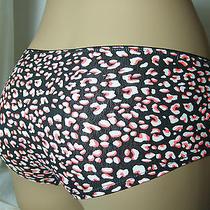 Nwot H & M Sexy Women Panty Underwear Knickers Black Leopard L/ Uk 14/ Us 10 Photo