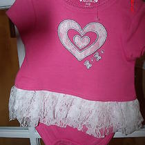 Nwot Infant Girl Xoxo  Romper/outfit Photo