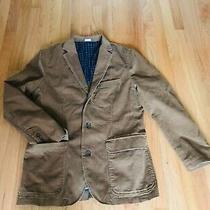 Nwot J Crew Mens Jacket Sport Coat Blazer M Camel Brown Vintage Cord  Photo