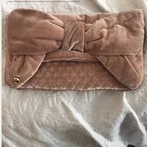 Nwot Juicy Velvet Blush Clutch Bag Photo