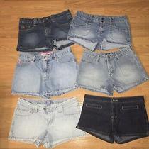 Nwot Junior Girls Shorts Lot Sz 7 9 9/10 29 Xoxo Guess Lilu Tilt and Angel Photo