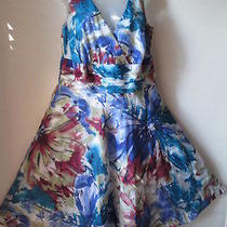 Nwot Lane Bryant Water Color Dress  Size 16 Photo