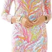 Nwot Lilly Pulitzer Christie Scuba to Cuba v-Neck Dress Size Medium Photo