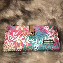 Nwot Lily Bloom Liza Wallet - Floral Reef Print - Nice - Eco Friendly Photo