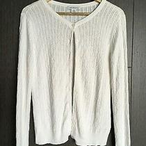 Nwot Liz Claiborne Cardigan Sweater Size M  1119 Photo