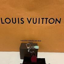 Nwot Louis Vuitton Noe Key Ring Purse Bag Charm Beautiful Photo