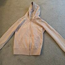 Nwot Lucky Brand Blush Sequin Hoodie Size Large Photo