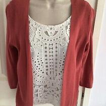 Nwot m&s Cinnamon Blush 2 in 1 Top Size 8 Photo