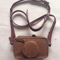 Nwot Madewell the Camera Clutch Brown Leather Crossbody Bag 98 Photo