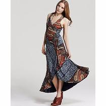 Nwot Marc by Marc Jacobs Painted Page Paisley Maxi Dress M Photo