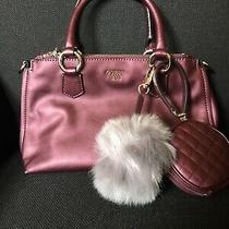 Nwot Maroon Guess Satchel Handbag Photo
