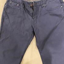 Nwot Men's (38 X 32) Hugo Boss Orange Label Regular Fit Pants Blue 135 Photo