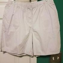 Nwot Men's Classic Elements Khaki Shorts Size L Tan Photo