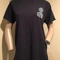 Nwot Men's Element Black Short Sleeve Graphic Print T-Shirt M Photo