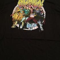 Nwot Men's Size Large the Big Bang Theory Bazinga Group Shot Shirt  Photo