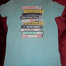 Nwot - Mens Size Xl Hollister Co - Mix Tape Tee-Shirt - Stack of Mix Tapes  Photo