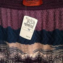 Nwot Missoni Lined Knit Skirt Size 10 Retail 755.00  Photo
