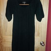 Nwot Mossimo Black Knit Dress Size M  Photo