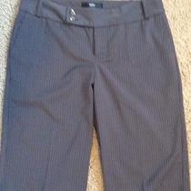 Nwot Mossimo Size 2 Modern Fit Womens Pinstripe Dress Bermuda Stretch Shorts Photo