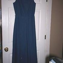 Nwot Navy Blue Anne Klein Ii Dress Breathtaking Audrey Hepburn  Photo