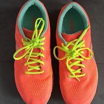 Nwot Neon Women's Asics Running Sneakers 11 Photo