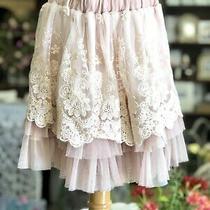 Nwot New Miss Rose Sister Violet Pink Blush Skirt Toddler Girls  Photo