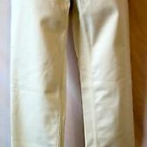Nwot New Yigal Azrouel 6 8 M White Skinny Pant Straight Cotton Photo