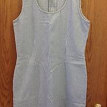 Nwot Newport News Avon Styleworks Strip Dress Summer Shift Sleeveless Size 16 Photo