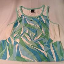 Nwot Nike Dri-Fit Women's Aqua Running Fitness Sleeveless Top Shirt L (D710) Photo