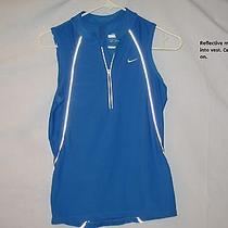 Nwot Nike Fit-Dry Women's Small (4-6) Reflective Training Running Vest W/ Pouch Photo