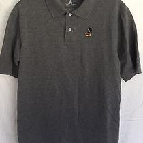 Nwot Nike Tennis Polo Shirt - Mickey Mouse Gray - Mens Small Photo