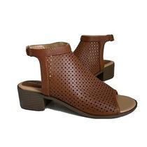 Nwot Nine West Perforated Putian  Sandals Sz 8 Photo