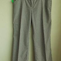 Nwot Old Navy Stretch  Wide Leg  Stripe  Low Waist  Pants Size 14 Short Photo