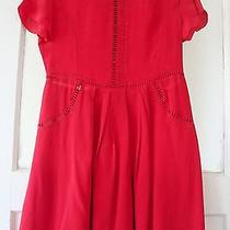 Nwot Opening Ceremony Ladder Trim Baby Doll Dress - Size Xs Photo