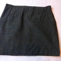 -Nwot Outback Red Green Textured Mini Skirt Sz 10 Photo