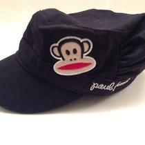 Nwot Paul Frank Hat Cap Unisex Black With Logo and Monkey Photo