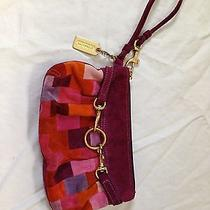 Nwot Purple Coach Wristlet  Photo