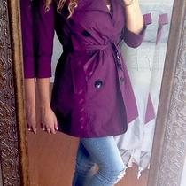 Nwot Purple Xoxo Raincoat Photo