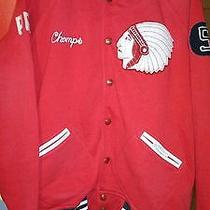 Nwot Ralph Lauren Polo Red Indian Chief Head Varsity Sweater Jacket  Xlarge Photo