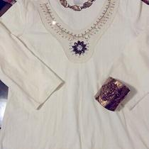 Nwots Vintage Jeweled Avon Top Size M Photo