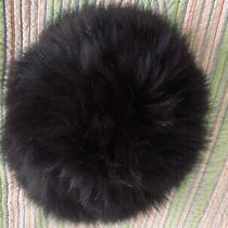 Nwot  Surell  100% Premium  Fox Fur  Knit Women's  Dark Brown Hat One Size   Photo