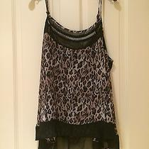 Nwot Torrid See-Through Animal Print Tank Top Photo