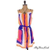 Nwot Trina Turk Avalon Short Dress Swim Coverup Belted Strap Beach Tunic M B2 Photo