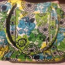 Nwot Vera Bradley Limes Up Campus Tote Shopper Handbag Purse Photo