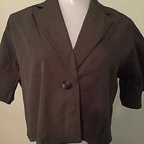 Nwot Vera Wang Trendy Black Blazer Jacket Size Small Photo