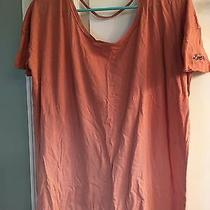 Nwot Victoria's Secret Pink Blush Ombre Low Back Shirt Top L Large Super Soft Photo