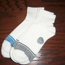 Nwot Vince Camuto 2  Pair White Quarter Crew Socks Size 9-11 Photo