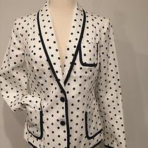 Nwot Women's Express Polka Dot Blazer Jacket-Sz 6 Photo