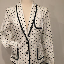 Nwot Women's Express Polka Dot Blazer Jacket-Sz 6 Photo