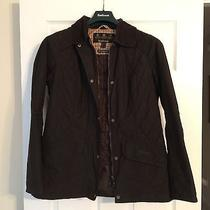 Nwot Women's Fitted Barbour Jacket Photo